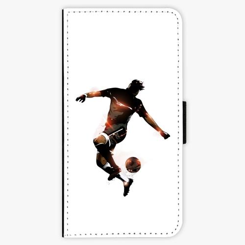 Flipové pouzdro iSaprio - Fotball 01 - iPhone 5/5S/SE