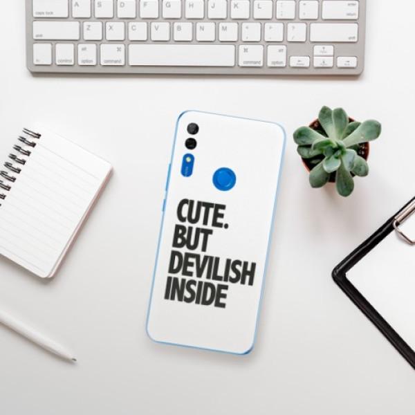 Odolné silikonové pouzdro iSaprio - Devilish inside - Huawei P Smart Z