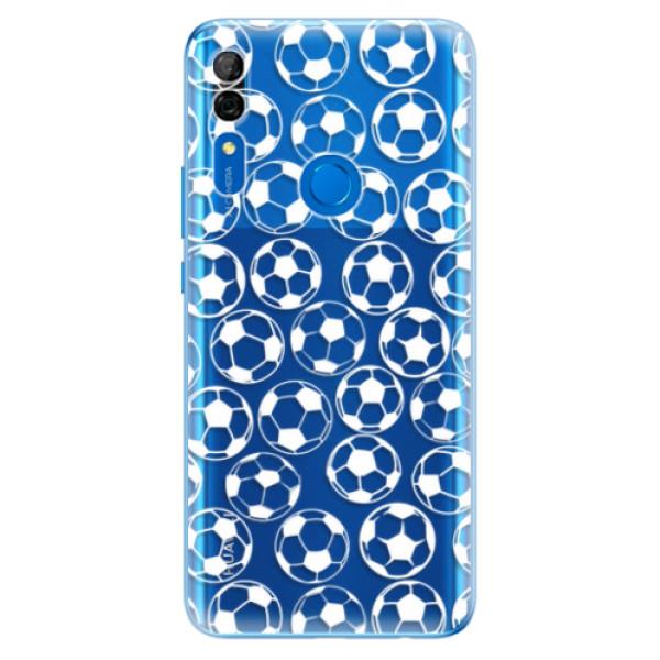 Odolné silikonové pouzdro iSaprio - Football pattern - white - Huawei P Smart Z