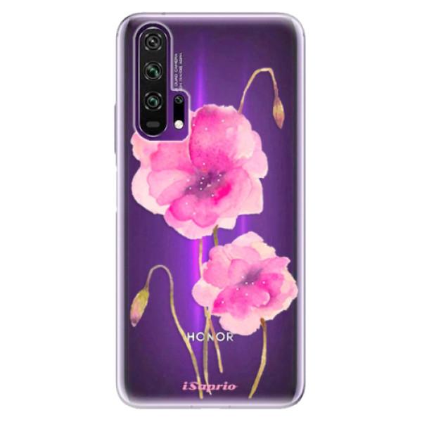Odolné silikonové pouzdro iSaprio - Poppies 02 - Honor 20 Pro