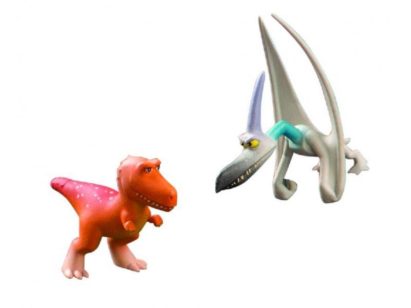 Hodný Dinosaurus - Ramsey & Hromosvod - plastové minifigurky 2ks