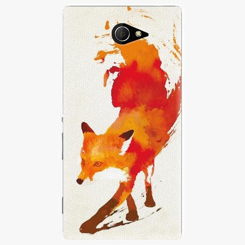 Plastový kryt iSaprio - Fast Fox - Sony Xperia M2