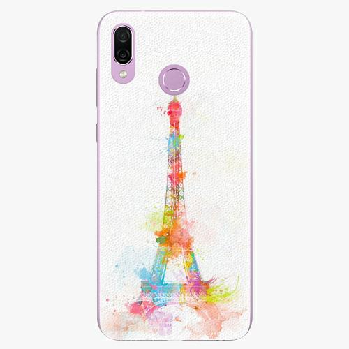 Silikonové pouzdro iSaprio - Eiffel Tower - Huawei Honor Play