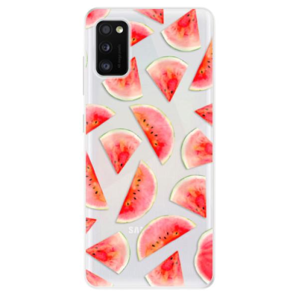 Odolné silikonové pouzdro iSaprio - Melon Pattern 02 - Samsung Galaxy A41