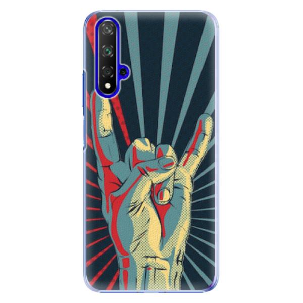 Plastové pouzdro iSaprio - Rock - Huawei Honor 20