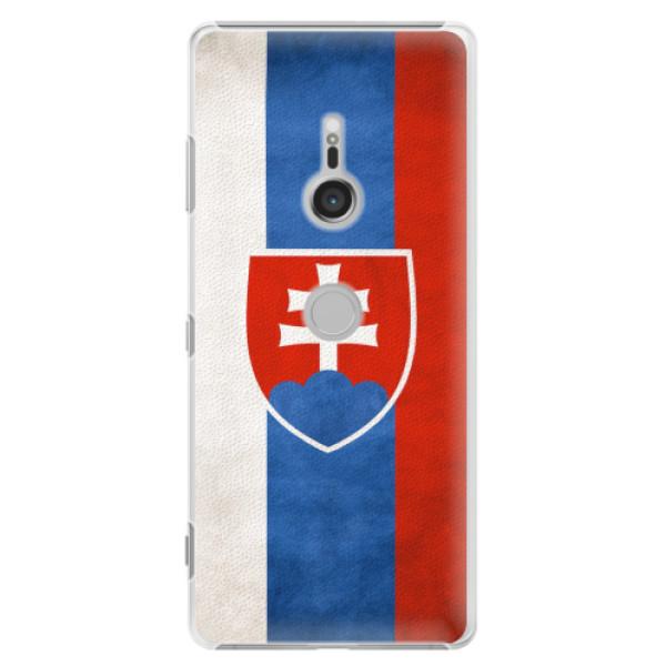 Plastové pouzdro iSaprio - Slovakia Flag - Sony Xperia XZ3