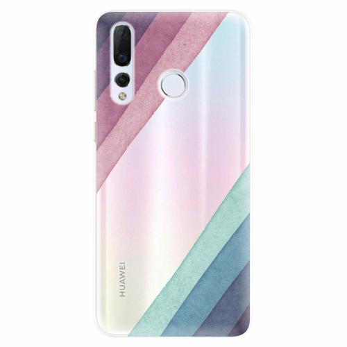 Silikonové pouzdro iSaprio - Glitter Stripes 01 - Huawei Nova 4