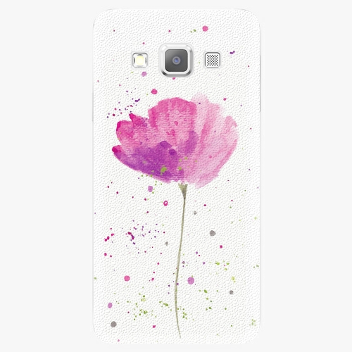 Plastový kryt iSaprio - Poppies - Samsung Galaxy A3