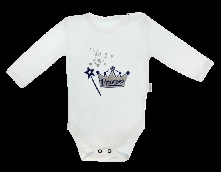 Kojenecké body Princezna - dlouhý rukáv