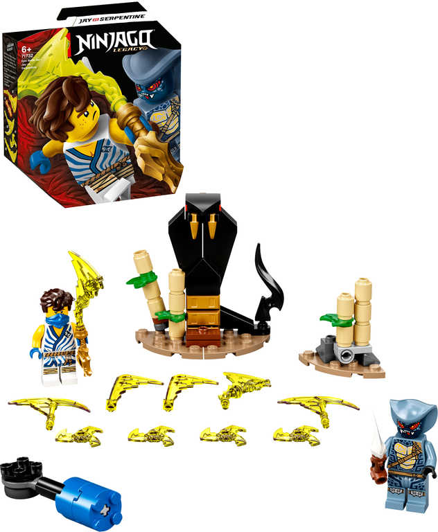 LEGO NINJAGO Epický souboj – Jay vs. Serpentine 71732 STAVEBNICE