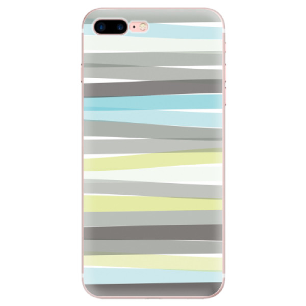 Odolné silikonové pouzdro iSaprio - Stripes - iPhone 7 Plus