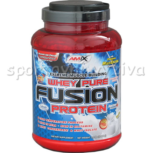 Whey Pure Fusion Protein - 1000g-moca-choco-coffee