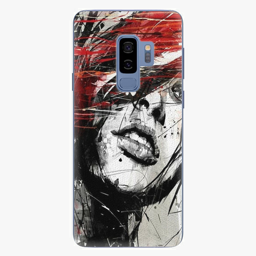 Plastový kryt iSaprio - Sketch Face - Samsung Galaxy S9 Plus
