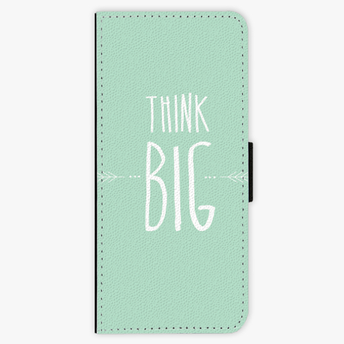 Flipové pouzdro iSaprio - Think Big - Samsung Galaxy J3