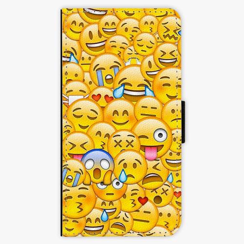 Flipové pouzdro iSaprio - Emoji - Lenovo Moto G5 Plus