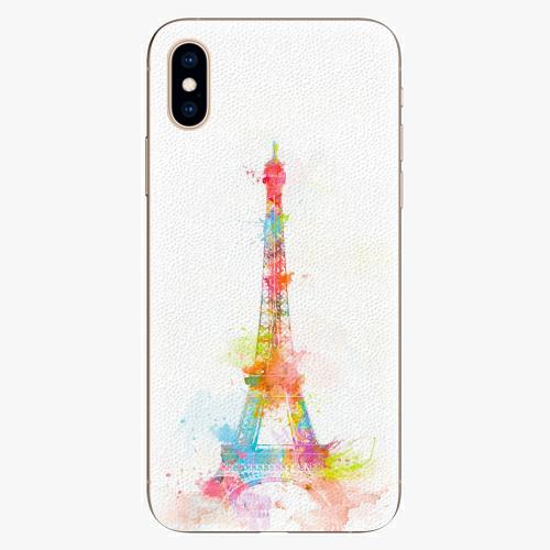 Silikonové pouzdro iSaprio - Eiffel Tower - iPhone XS
