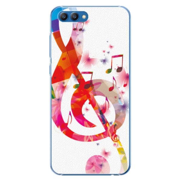 Plastové pouzdro iSaprio - Love Music - Huawei Honor View 10