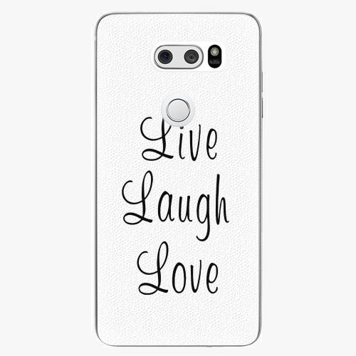 Plastový kryt iSaprio - Live Laugh Love - LG V30
