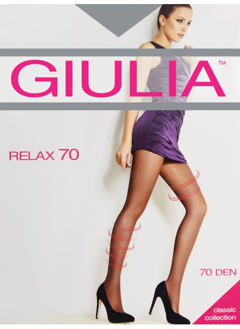 Dámské punčochy Relax 70 - Giulia - Černá/3