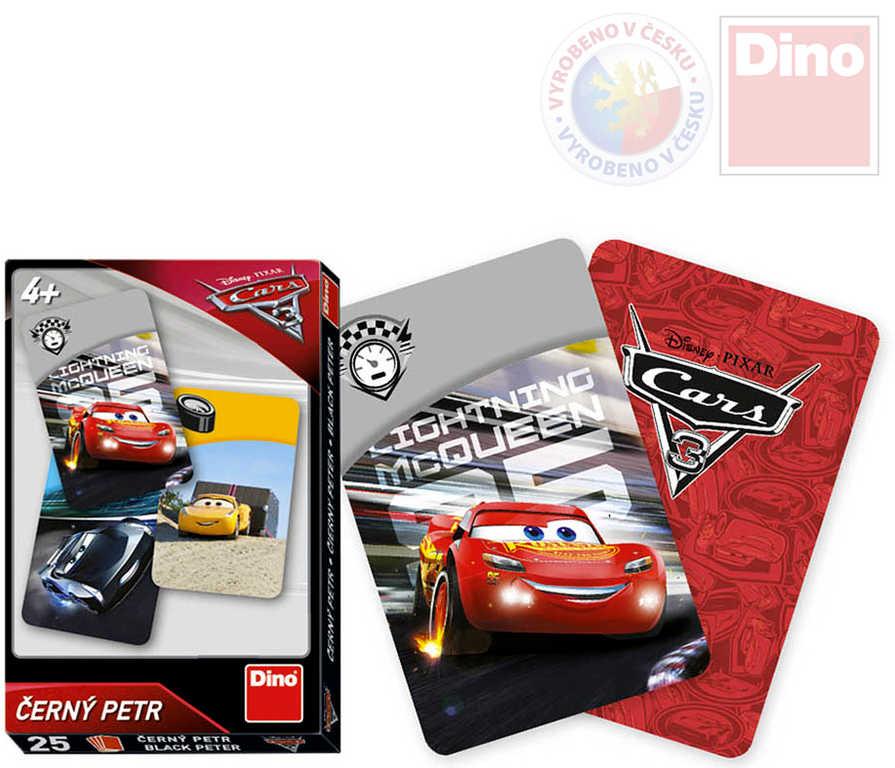 DINO Hra karetní Černý Petr Cars 3 (Auta)