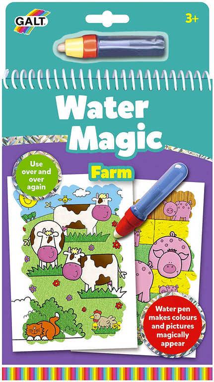 ADC Zvířátka na farmě vodní magie kouzelné obrázky 6ks set s vodním perem