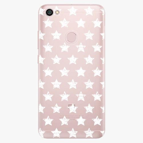 Plastový kryt iSaprio - Stars Pattern - white - Xiaomi Redmi Note 5A / 5A Prime