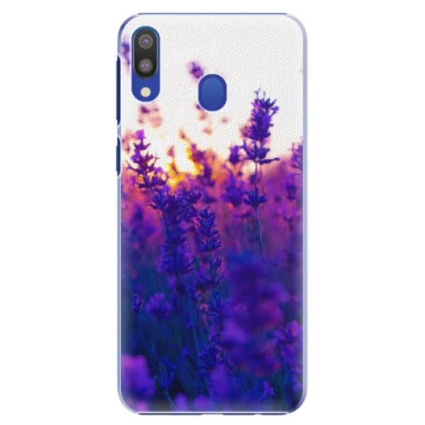 Plastové pouzdro iSaprio - Lavender Field - Samsung Galaxy M20