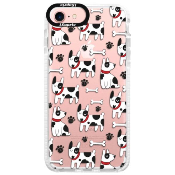 Silikonové pouzdro Bumper iSaprio - Dog 02 - iPhone 7