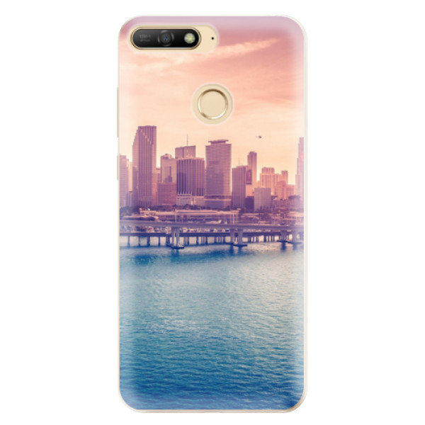 Odolné silikonové pouzdro iSaprio - Morning in a City - Huawei Y6 Prime 2018