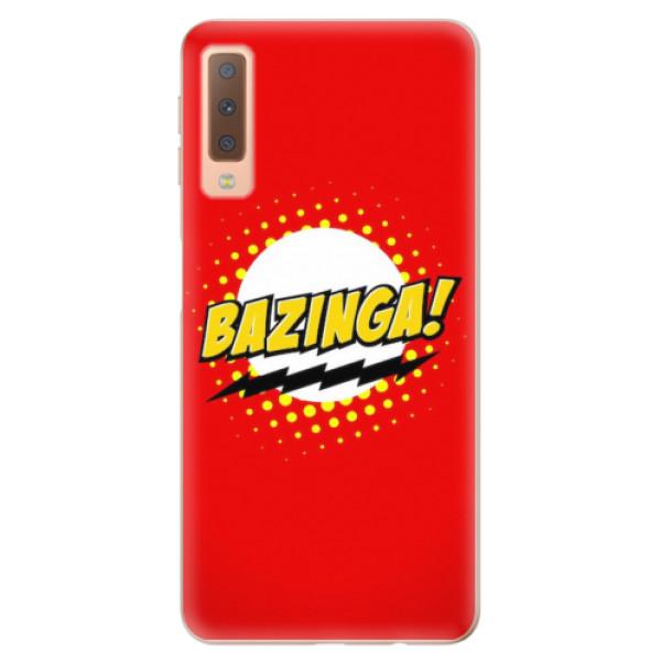 Odolné silikonové pouzdro iSaprio - Bazinga 01 - Samsung Galaxy A7 (2018)