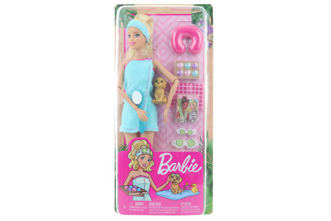 Barbie Wellness panenka blond GKH73