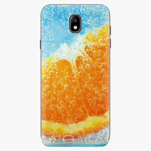 Plastový kryt iSaprio - Orange Water - Samsung Galaxy J7 2017