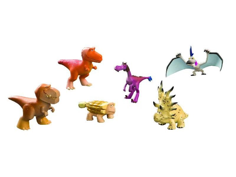 Hodný Dinosaurus - Butchovo skupina - plastové minifigurky 6 ks