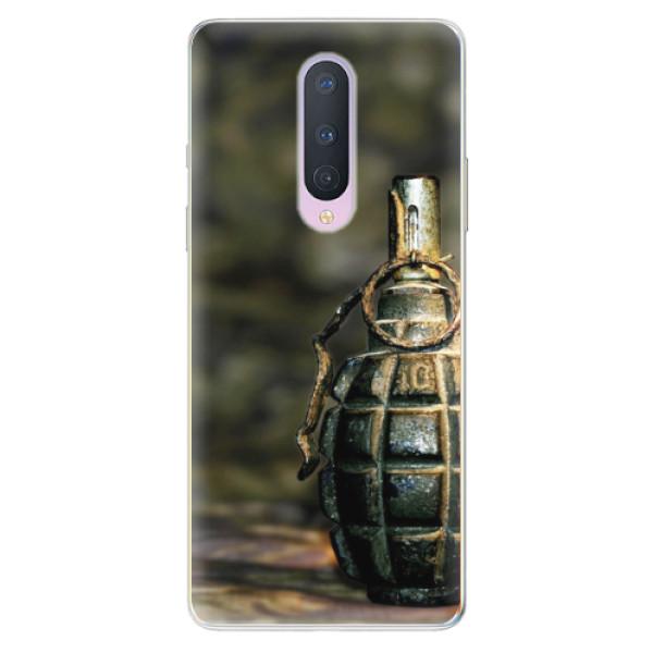 Odolné silikonové pouzdro iSaprio - Grenade - OnePlus 8