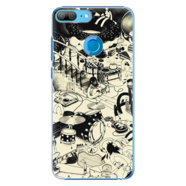 Plastové pouzdro iSaprio - Underground - Huawei Honor 9 Lite