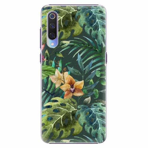 Plastový kryt iSaprio - Tropical Green 02 - Xiaomi Mi 9