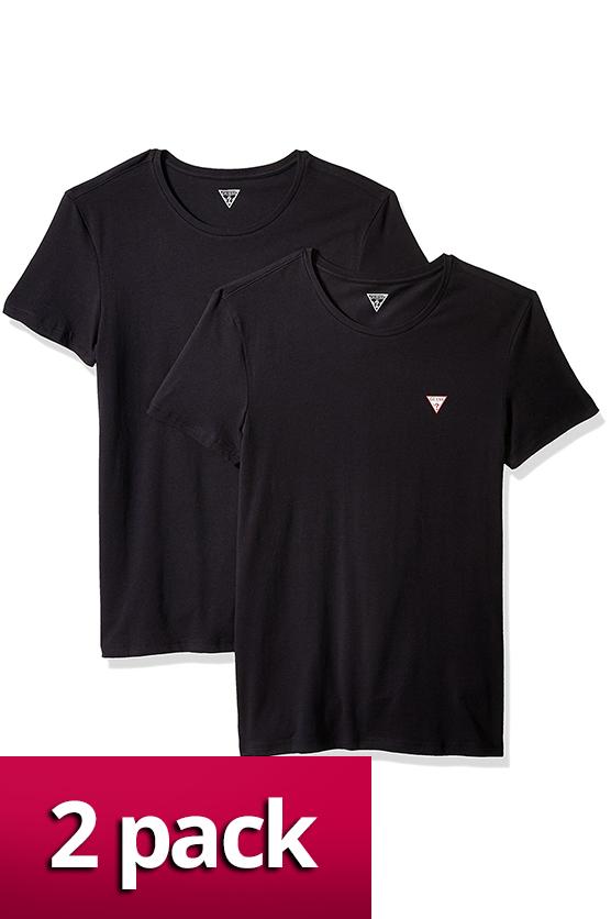 Pánské tričko U77G14JR003 2pack Guess - Bílá/XL