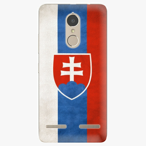 Plastový kryt iSaprio - Slovakia Flag - Lenovo K6