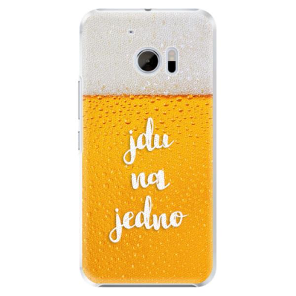 Plastové pouzdro iSaprio - Jdu na jedno - HTC 10