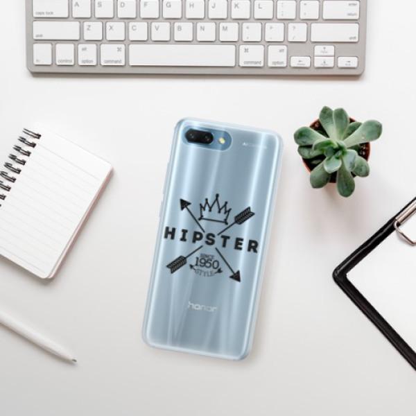 Silikonové pouzdro iSaprio - Hipster Style 02 - Huawei Honor 10