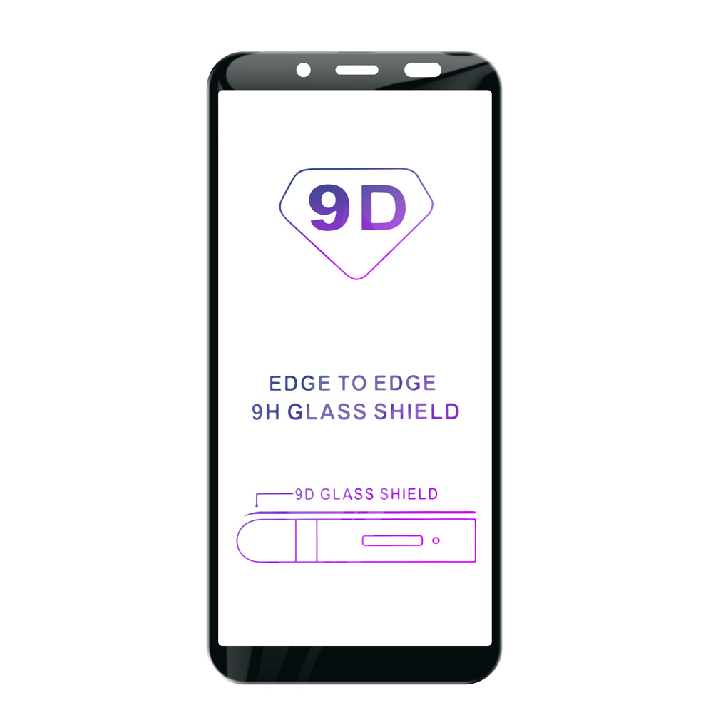 Tvrzené sklo iSaprio 9D BLACK pro Samsung Galaxy A6 Plus