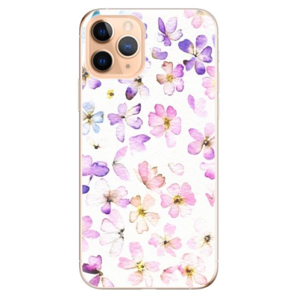 Odolné silikonové pouzdro iSaprio - Wildflowers - iPhone 11 Pro