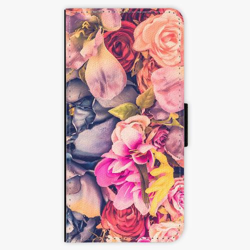 Flipové pouzdro iSaprio - Beauty Flowers - Samsung Galaxy A3 2017