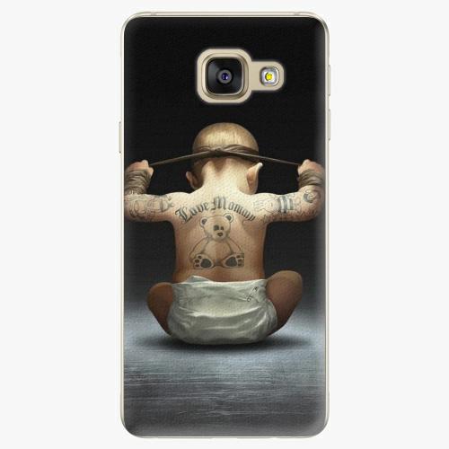 Plastový kryt iSaprio - Crazy Baby - Samsung Galaxy A3 2016