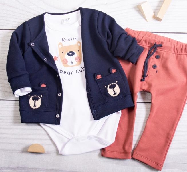 K-Baby 3Teddy Bear, granát, cihlová