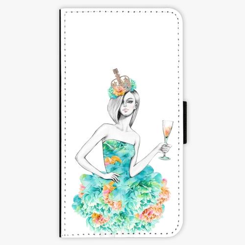 Flipové pouzdro iSaprio - Queen of Parties - Samsung Galaxy J7 2017