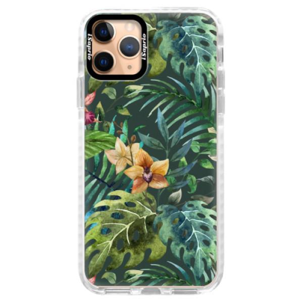Silikonové pouzdro Bumper iSaprio - Tropical Green 02 - iPhone 11 Pro