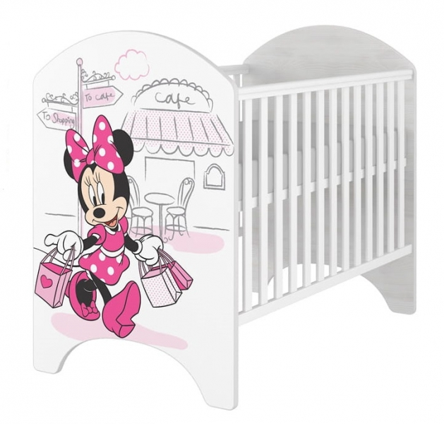 babyboo-detska-postylka-disney-minnie-shopping-120x60cm