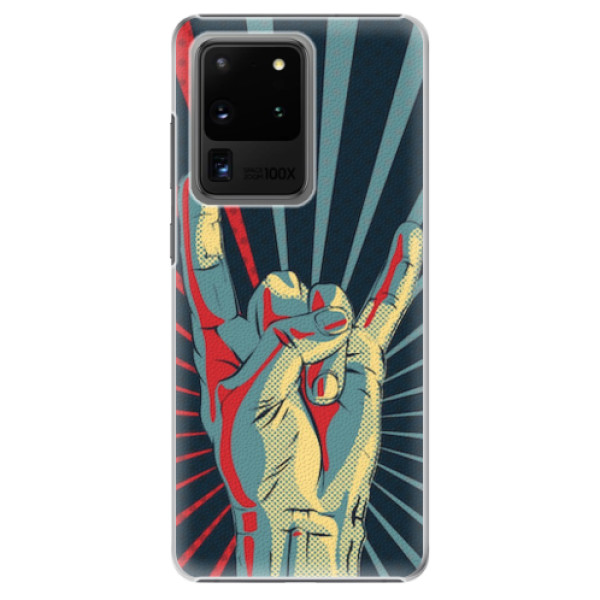 Plastové pouzdro iSaprio - Rock - Samsung Galaxy S20 Ultra