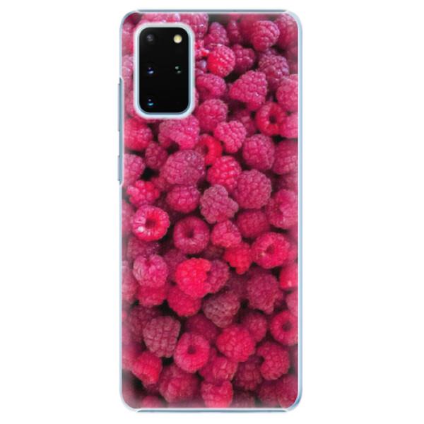 Plastové pouzdro iSaprio - Raspberry - Samsung Galaxy S20+